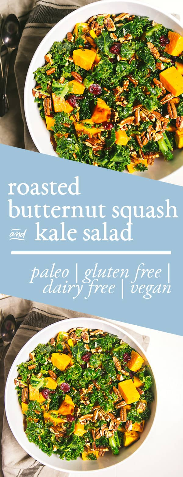 butternut squash recipes butternut squash and kale salad
