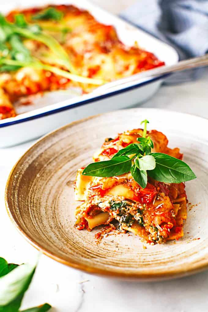 spinach and zucchini lasagna recipe