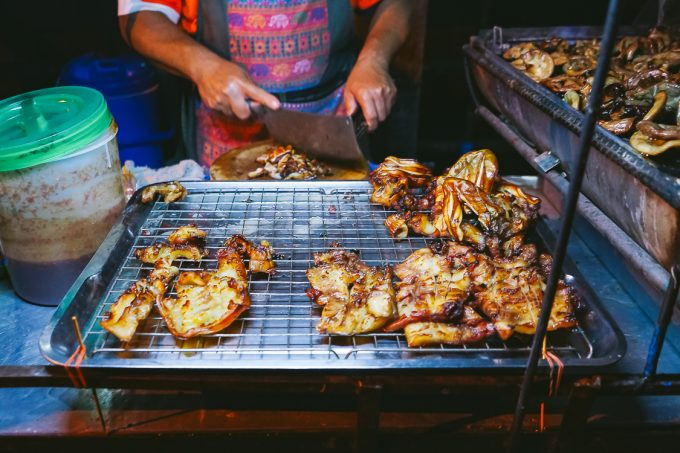 grilled chicken in bangkok