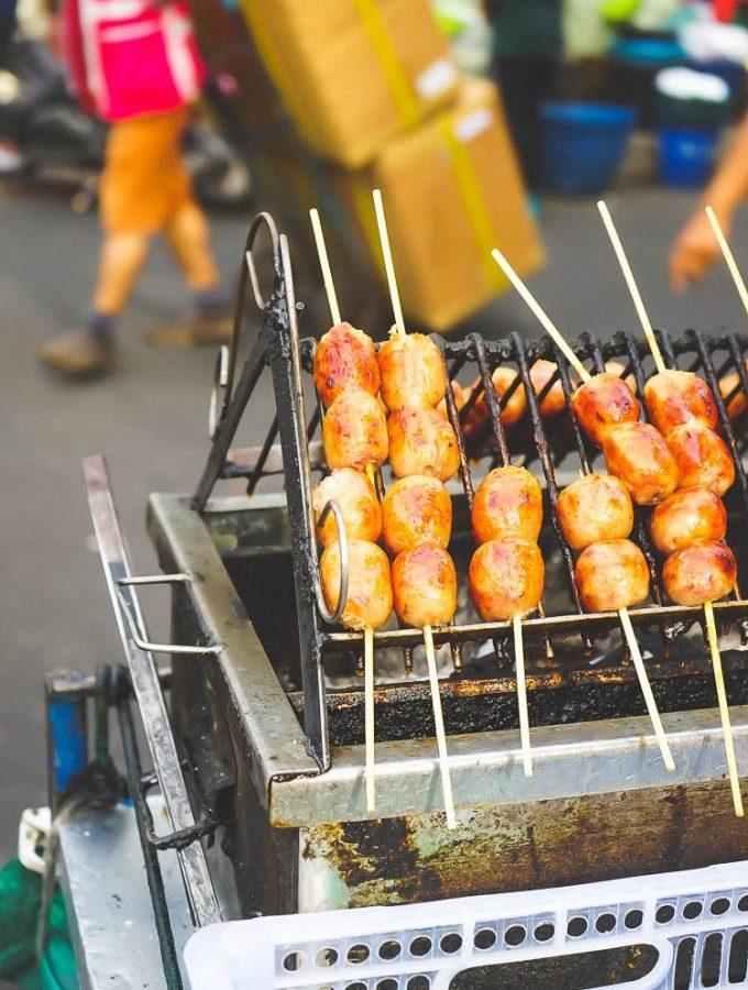 sausage in bangkok