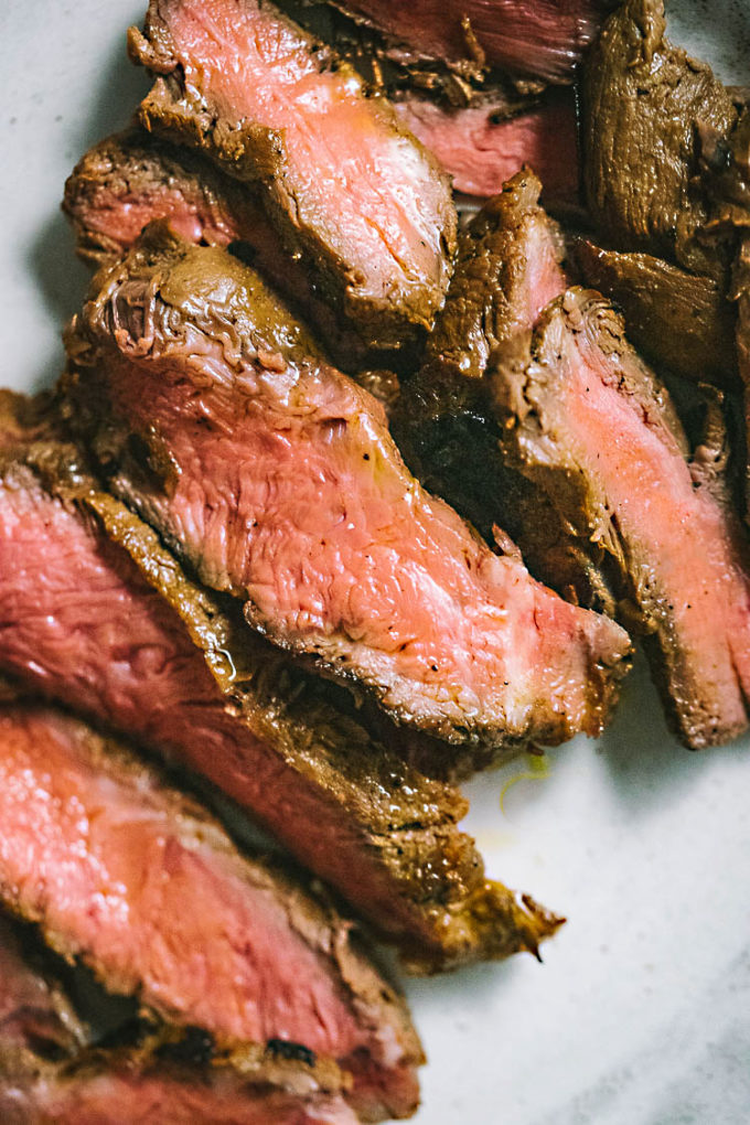 sous vide flat iron steak