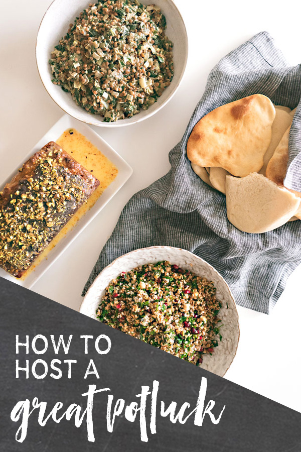 cookbook club potluck party