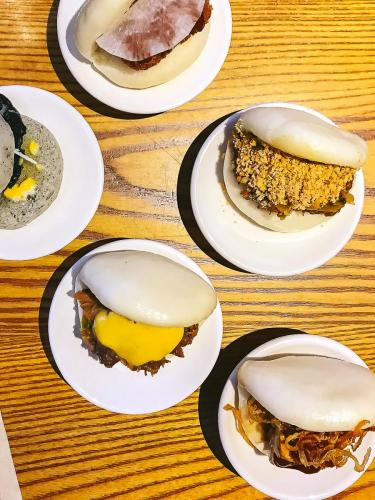 Bao sampler at BAO Fitzrovia   The 12 Things You Must Eat in London Right Now