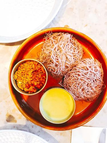 String hoppers from Hoppers   The 12 Things You Must Eat in London Right Now