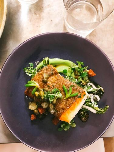 Pollock à la Grenobloise, Lemon & Broccoletti at Frenchie   The 12 Things You Must Eat in London Right Now