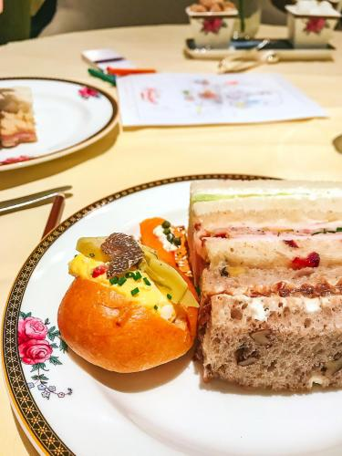 Afternoon tea sandwiches at the Langham   The 12 Things You Must Eat in London Right Now