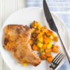 whole30 pork chops and sweet potato hash