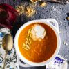 roasted carrot and apple soup